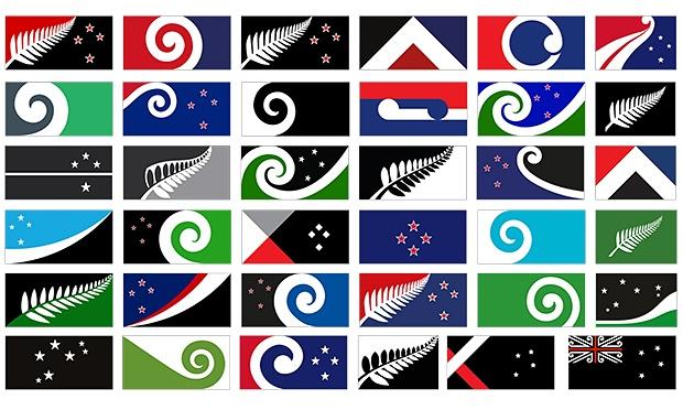 Само  един от 40-те  варианта съдържа в себе си Union Jack. Единствена връзка с Великобритания може да остане цветовата комбинация от синьо, червено и бяло.